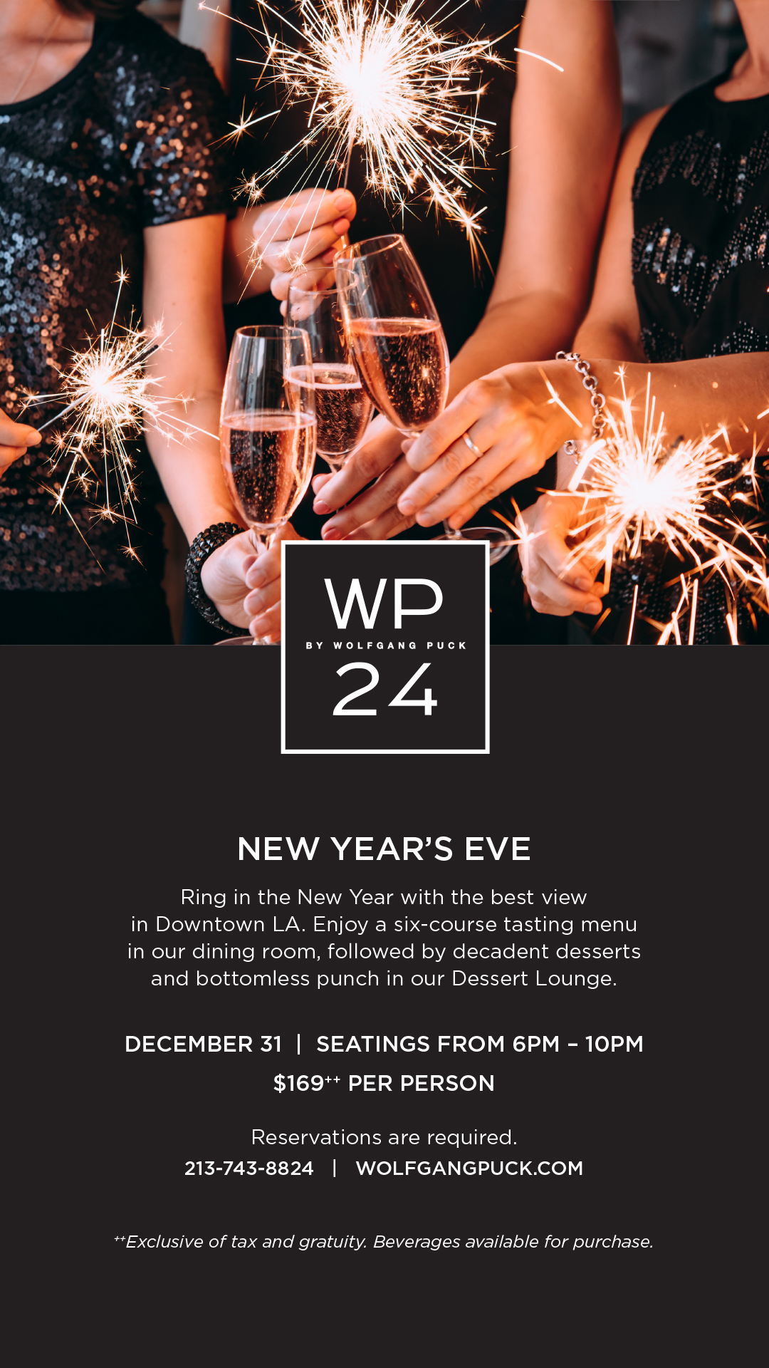 New Year's Eve - LA LIVE w/ Wolfgang Puck