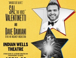 "Sal ""The Voice"" Valentinetti from AGT w/ Damiani in Palm Desert"