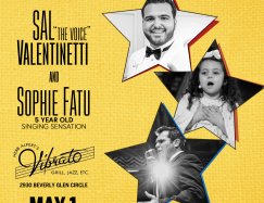 Valentinetti & Sophie w/ Dave Damiani's No Vacancy Orchestra